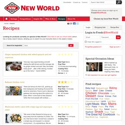 Recipes - New World Supermarket