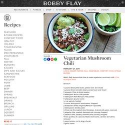 Bobby Flay - Vegetarian Chili
