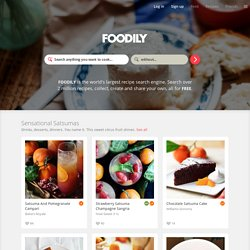 Find recipes online  |  Foodily  |  Food, I love you