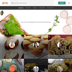 Yummly - The best site for recipes, recommendations, food and cooking