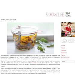 Easy Recipe for Garlic Confit | A Chow Life | Foodie recipes and stories from a Seattle kitchen