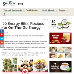 20 Energy Bites Recipes for On-The-Go Energy