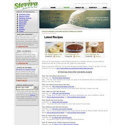 Stevia Free Recipes, stevia sweetner, recipes stevia, stevia extract, cooking with stevia