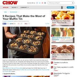 9 Recipes That Make the Most of Your Muffin Tin - Food News -
