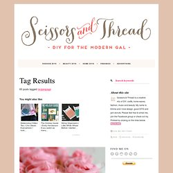 recipespage | Scissors + Thread