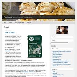 Reciplace: Bread