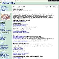literacymalden - ReciprocalTeaching