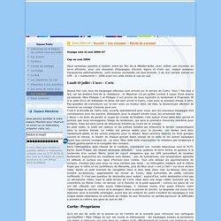 Récits de voyages - Voyage vers le sud 2006 07 - Aéro club de la région de Lorient