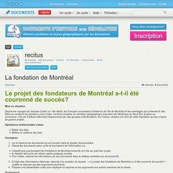 Fondation de Montréal