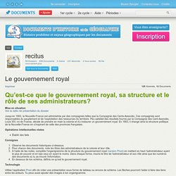 gouvernement royal