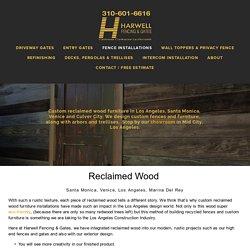 Custom Installations of Interior Walls using Reclaimed Wood