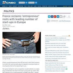 France reclaims 'entrepreneur' roots with leading number of start-ups in Europe