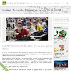 Cambodge : ils réclamaient 11 euros de plus par mois, Nike les licencie