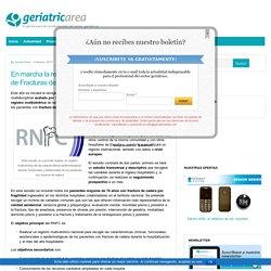En marcha la recogida de datos del Registro Nacional de Fracturas de Cadera