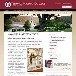 Thomas Aquinas College
