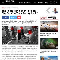 FBI Facial Recognition Database Innocent People