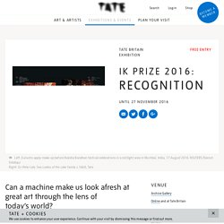 Recognition - Exhibition at Tate Britain