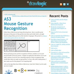 AS3 Mouse Gesture Recognition - web, mobile, game + interactive development » AS3 Mouse Gesture Recognition » AS3 Mouse Gesture Recognition