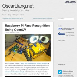 Raspberry Pi Face Recognition Using OpenCV - OscarLiang.net