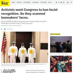 Activists push Congress members to ban facial recognition surveillance
