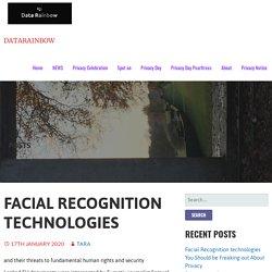 Facial Recognition technologies – DataRainbow