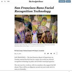 San Francisco Bans Facial Recognition Technology