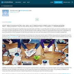 GET RECOGNITION AS AN ACCREDITED PROJECT MANAGER!: trainingbrowser