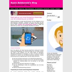 Maak gebruik van Visual Recognition Mobile App voor de verbetering van uw bedrijf