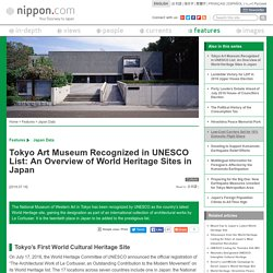 Tokyo Art Museum Recognized in UNESCO List: An Overview of World Heritage Sites in Japan