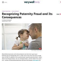 Recognizing Paternity Fraud and Its Consequences