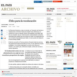 Útiles para la recolocación · ELPAÍS.com