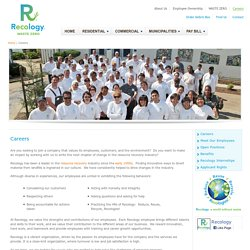 Recology - Careers