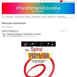 espirals d'indagació - Recursos recomanats - Xarxes de transformació educativa