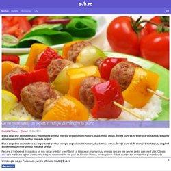 Ce ne recomandă un expert în nutriţie să mâncăm la prânz - Eva.ro