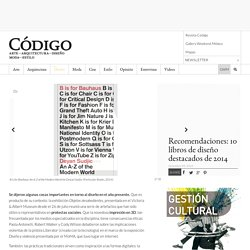 Recomendaciones: 10 libros de diseño destacados de 2014