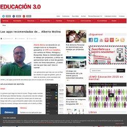 Las apps recomendadas de… Alberto Molina