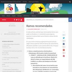 Ramos recomendados - GameDev: Comunidad UC