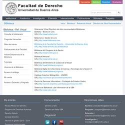Facultad de Derecho - Universidad de Buenos Aires
