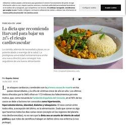 Dieta: La dieta que recomienda Harvard para bajar un 21% el riesgo cardiovascular
