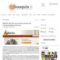 Le nouveau moteur de recommandation de livres de Babelio