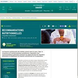 Recommandations nutritionnelles : L'équilibre alimentaire