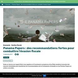 Panama Papers : des recommandations fortes pour combattre l'évasion fiscale