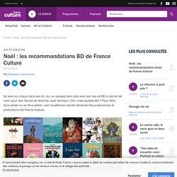 Noël : les recommandations BD de France Culture