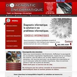 Réparation Ordinateur Bureau Québec. Conseils, Recommandations pour éliminer un virus informatiques