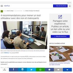 4 recommandations pour mener un test utilisateur avec des non et malvoyants