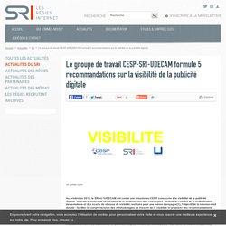 Le groupe de travail CESP-SRI-UDECAM formule 5 recommandations sur la visibilité de la publicité digitale