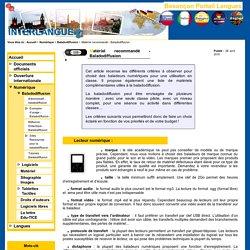 Besançon Portail Langues - Matériel recommandé - Baladodiffusion