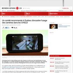 Un comité recommande à Québec d'encadrer l'usage des caméras dans les CHSLD