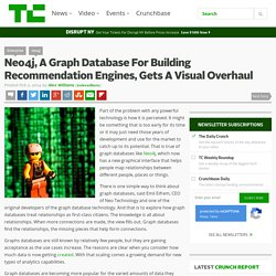 Neo4j, A Graph Database For Building Recommendation Engines, Gets A Visual Overhaul