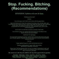 Recommendations Index